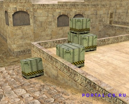 Скачать карту de_dust2_2x2 для CS 1.6