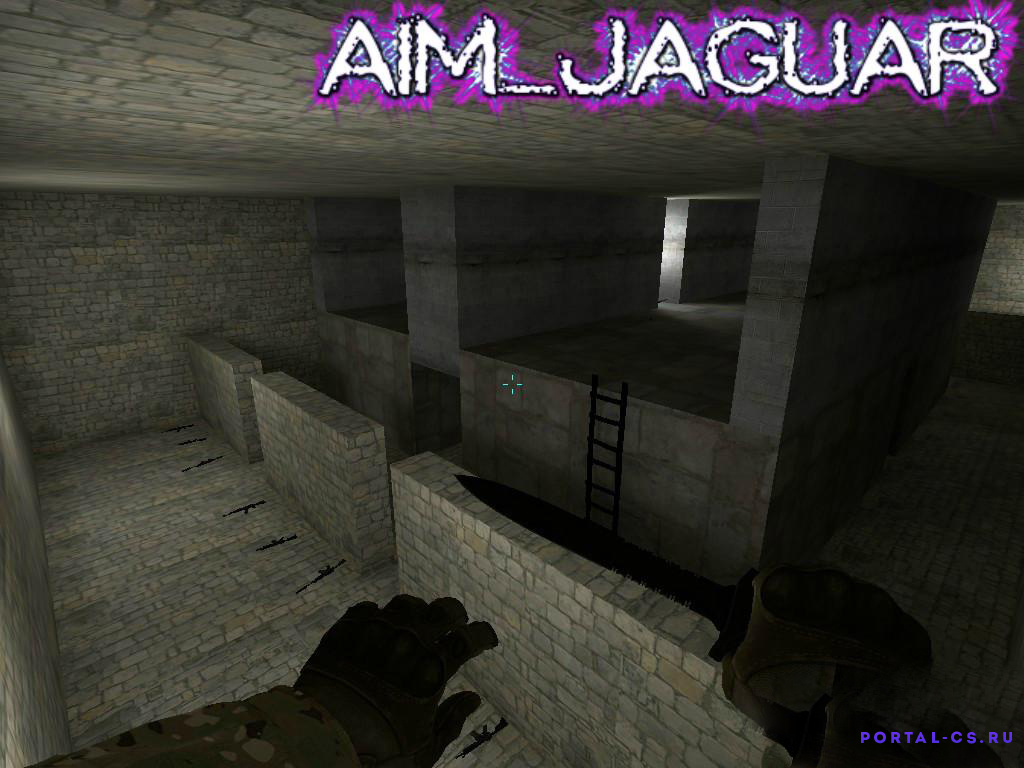 Скачать карту aim_jaguar для CS:GO