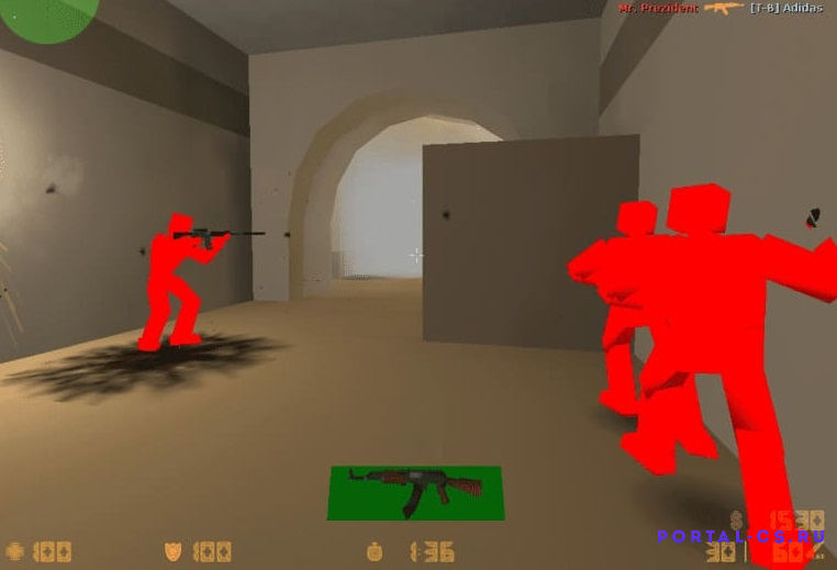 Скачать Counter-Strike 1.6 [MAX FPS]